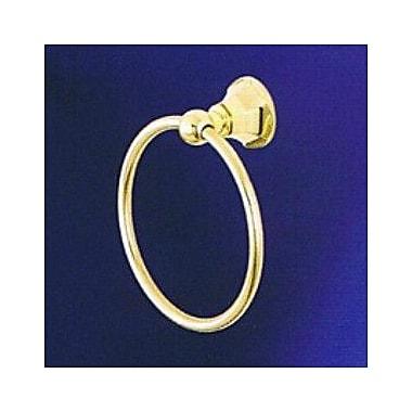 Empire Industries Regent Wall Mounted Towel Ring; Satin Nickel