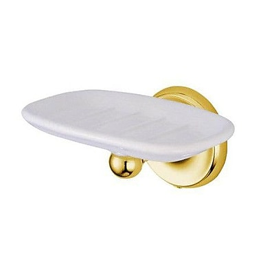 Elements of Design Petosky Soap Dish; Oil Rubbed Bronze