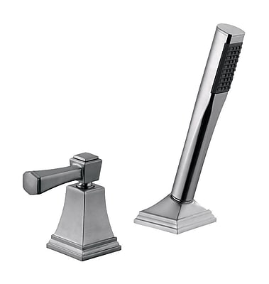 Design House Torino Tub Faucet; Satin Nickel