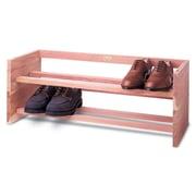 Woodlore Large Single 1-Tier 5 Pair Shoe Rack