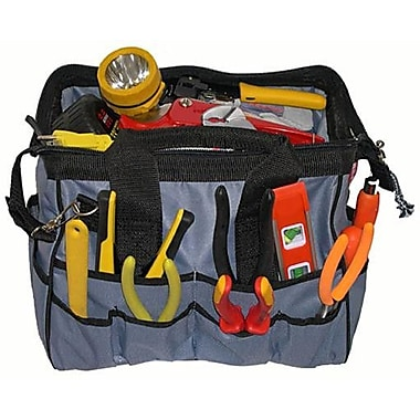 Morris Products Medium Easy Search Tool Bags w/ Plastic Tray