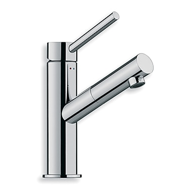 WS Bath Collections Linea Single Hole Bathroom Faucet w/ Single Handle