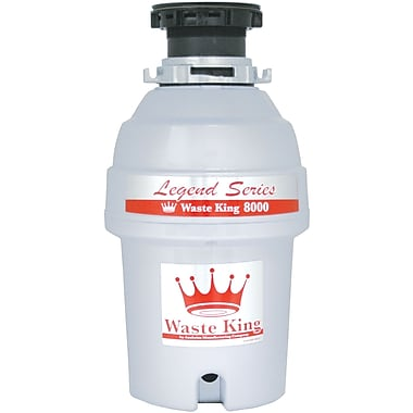 Waste King Legend Series 1 HP EZ-Mount Garbage Disposal w/ Continuous Feed