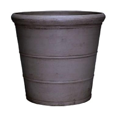 Arcadia Garden Products PSW Composite Pot Planter; Dark Charcoal