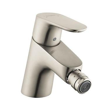 Hansgrohe Focus E Single Handle Horizontal Spray Bidet Faucet; Brushed Nickel
