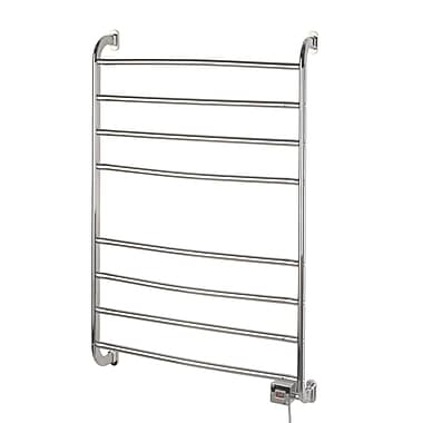 Jerdon Warmrails Kensington Wall Mount Towel Warmer Rack; Chrome