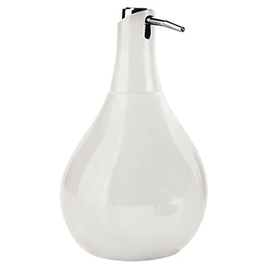 Gedy by Nameeks Azalea Liquid Soap Dispenser; White