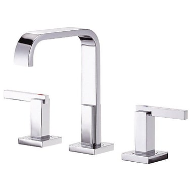 Danze Sirius Double Handle Mini Widespread Bathroom Faucet; Chrome
