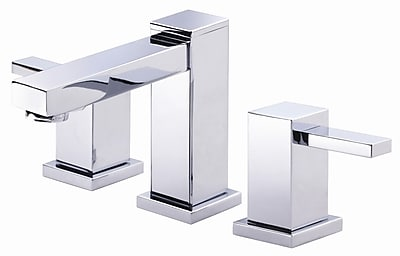 Danze Reef Widespread faucet Bathroom Faucet w/ Drain Assembly; Chrome