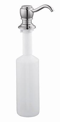 Design House Soap Dispenser; Polished Chrome