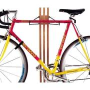 Gear Up Inc. Signature Series 4 Bike Storage Kit Freestanding Bike Rack; Golden Pecan