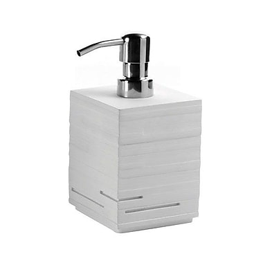 Gedy by Nameeks Quadrotto Soap Dispenser; White