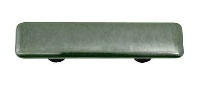 Hot Knobs Metallic 3'' Center Bar Pull; Black