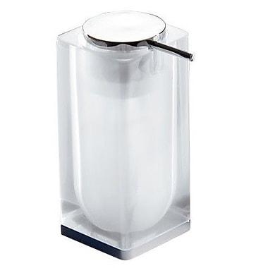 Gedy by Nameeks Iceberg Soap Dispenser; White