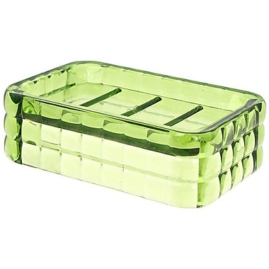 Gedy by Nameeks Glady Soap Dish; Transparent Green