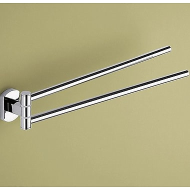 Gedy by Nameeks Edera Jointed Double Wall Mounted Towel Bar