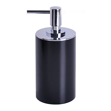 Gedy by Nameeks Piccollo Soap Dispenser; Black