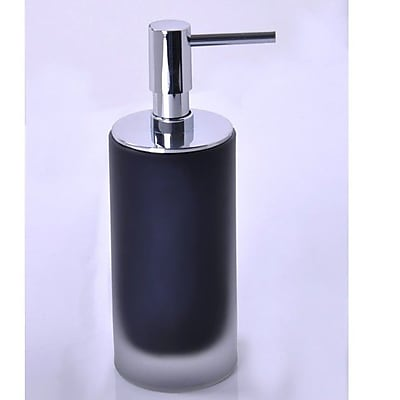 Gedy by Nameeks Baltic Soap Dispenser; Black