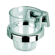 Geesa by Nameeks Standard Hotel Wall Mount Tumbler and Tumbler Holder