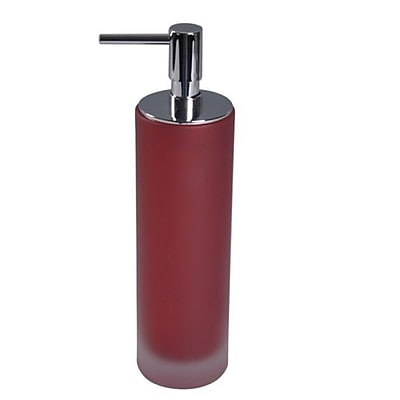 Gedy by Nameeks Baltic Soap Dispenser; Red