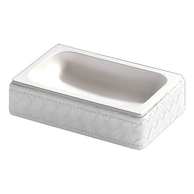 Gedy by Nameeks Marrakech Soap Dish; Pearl White