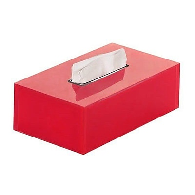 Gedy by Nameeks Rainbow Tissue Box Cover; Red