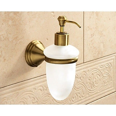Gedy by Nameeks Romance Soap Dispenser; Bronze