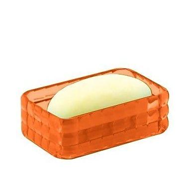 Gedy by Nameeks Glady Soap Dish; Orange