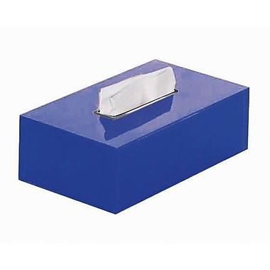 Gedy by Nameeks Rainbow Tissue Box Cover; Blue