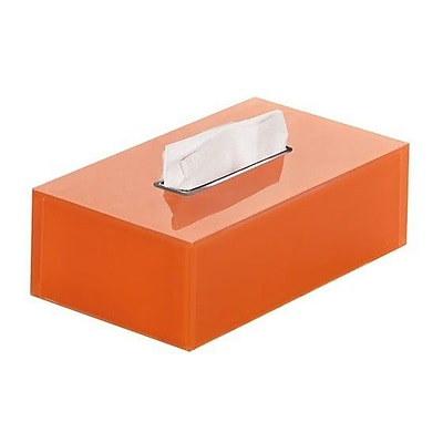 Gedy by Nameeks Rainbow Tissue Box Cover; Orange