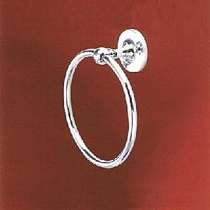 Empire Industries Carlton Wall Mounted Towel Ring; Polished Chrome
