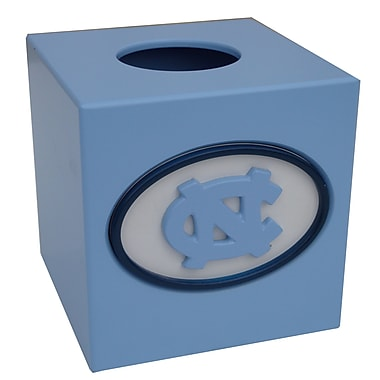 Fan Creations NCAA Tissue Box Cover; North Carolina