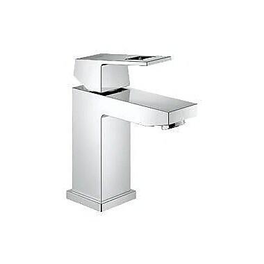 Grohe Eurocube Centerset Single Hole Bathroom Faucet; Without Drain