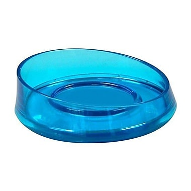 Gedy by Nameeks Flou Soap Dish; Transparent Turquoise