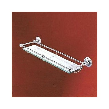 Empire Industries Carlton 20'' Bathroom Shelf; Polished Chrome
