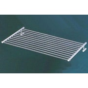 Empire Industries Tempo Wall Mounted Towel Shelf / Rack; Polished