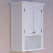Empire Industries Newport 26.3'' W x 34'' H Wall Mounted Cabinet; Cinnamon