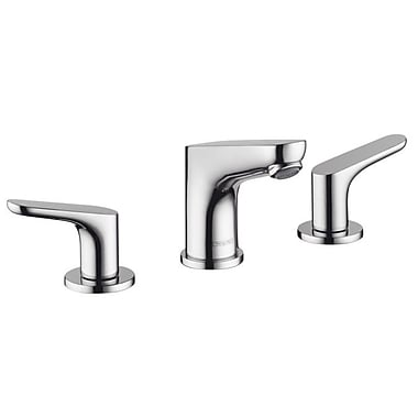 Hansgrohe Focus Double Handle Widespread Standard Bathroom Faucet; Chrome