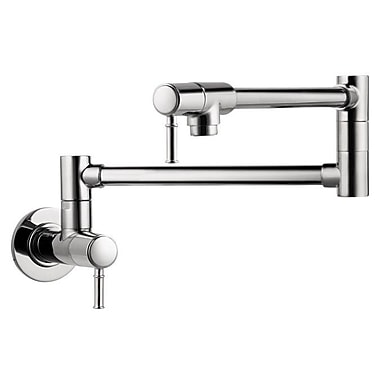 Hansgrohe Talis C Two Handle Wall Mounted Pot Fillers Faucet; Chrome