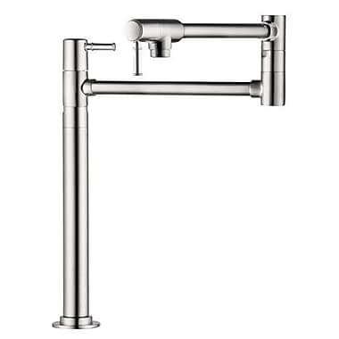 Hansgrohe Talis C Single Handle Deck Mounted Pot Fillers Faucet; Rubbed Bronze