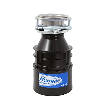 Premier Faucet 1/3 HP Continuous Feed Garbage Disposal