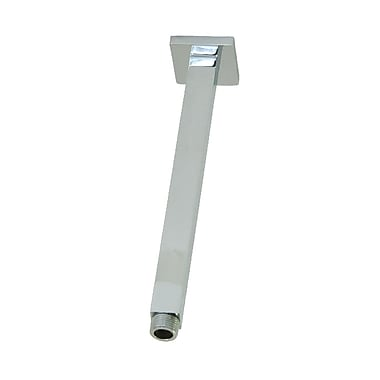 Artos Ceiling Mounted Shower Arm; Brushed Nickel