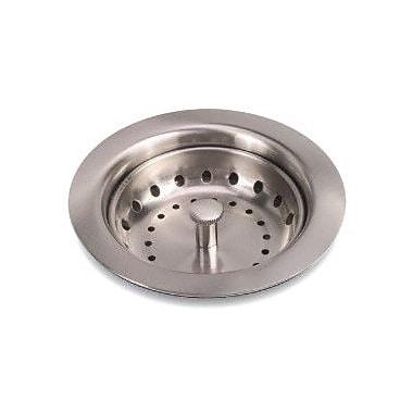 Premier Faucet Kitchen Sink Strainer; Brushed Nickel