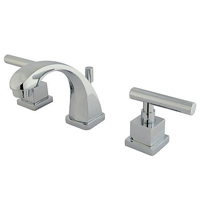 Elements of Design Rio Mini-Widespread Bathroom Faucet w/ Pop-up; Polished Chrome