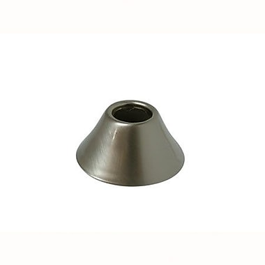 Elements of Design Solid Brass Decorative Bell Flange; Satin Nickel