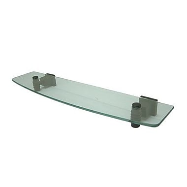 Elements of Design Fortress Wall Shelf; Oil Rubbed Bronze