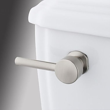 Elements of Design South Beach Toilet Tank Lever; Satin Nickel