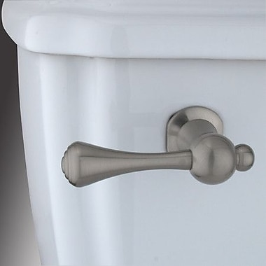 Elements of Design Decorative Buckingham Tank Lever Arm; Satin Nickel