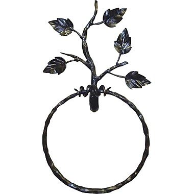 Quiescence Aspen Wall Mounted Towel Ring; Oil Rubbed Bronze
