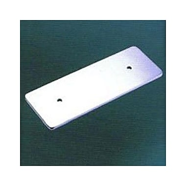 Empire Industries Tempo Rectangular Back Plate; Polished